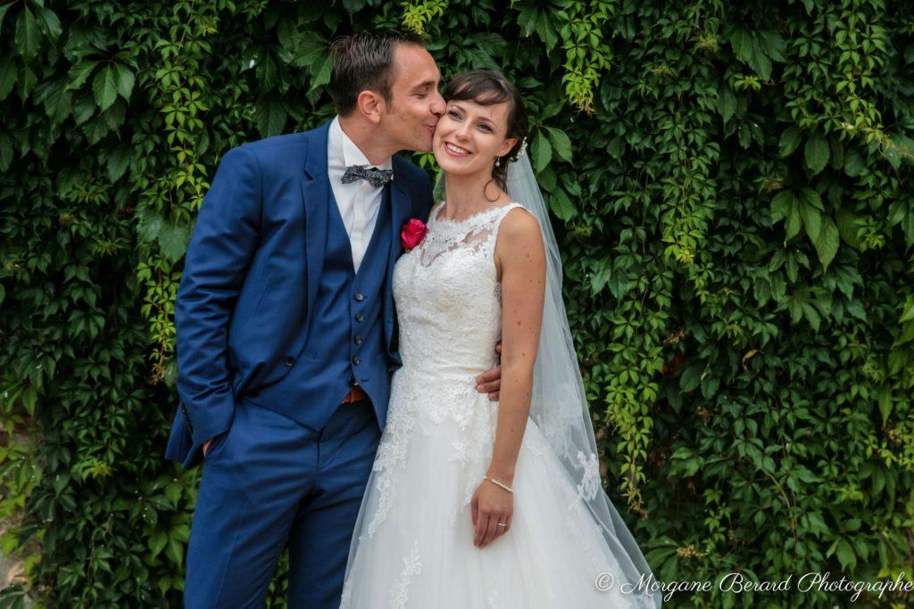 Elegant rustic wedding of Marie and David