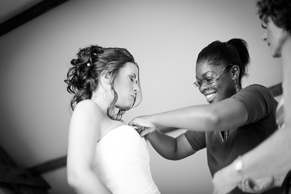 préparatif de la mariée wedding planner