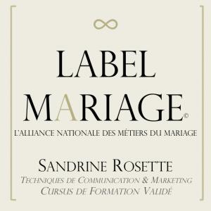 label mariage Muriel Saldalamacchia Académy Organsa