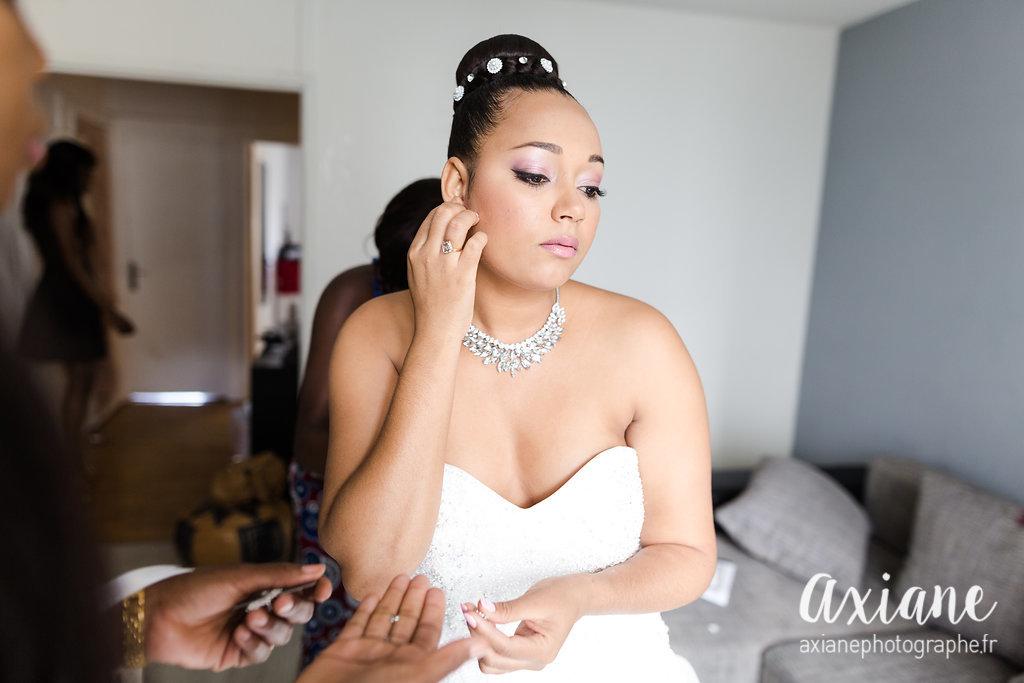 robe de mariée organsa wedding planner