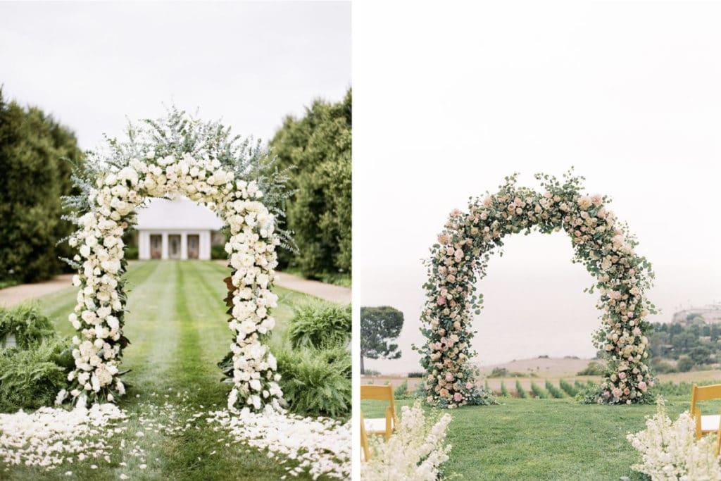 Une arche pour votre cérémonie
