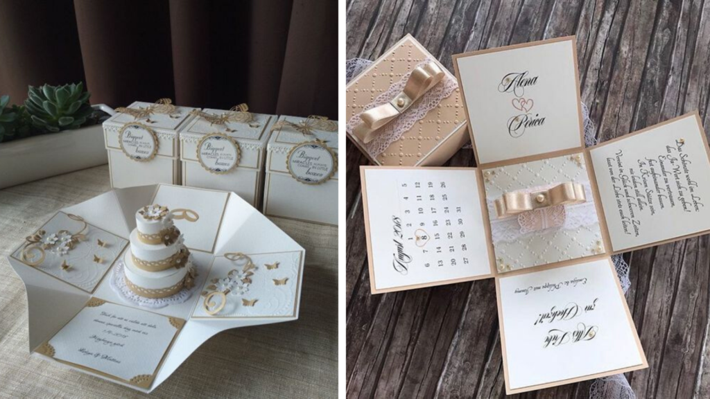Original wedding invitation cards ideas
