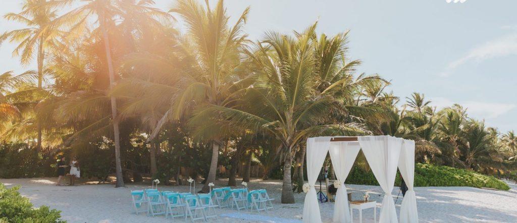 Jennifer C wedding Organsa wedding planner france Punta Cana